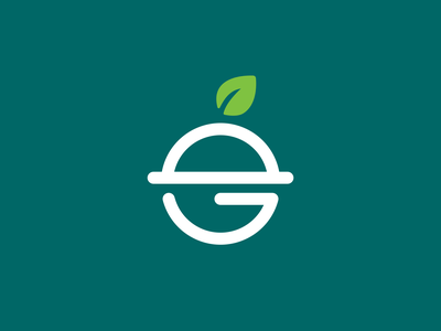 Ecofood Logo icon logo designer logo icon clever logo branding identity e logo letter e logo smart logo logo design 🥑 eco logo 🍃 eco friendly healthy health green eco
