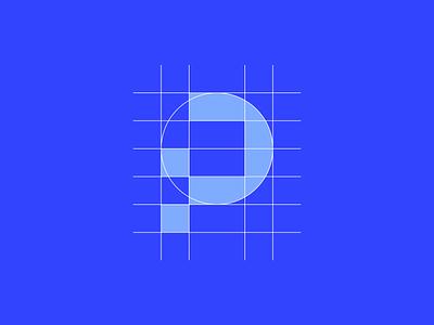 Pix Logo Grid vector creative negative space blue logo designer smart logos logo icon clever logo branding identity icon design smart logo logo logo design grid design icon grid grid logo logogrid grid