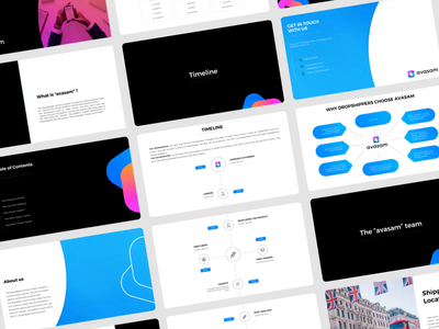 presentation deck logo design gradient design tech inovation identity dropshipping brand identity brand agency powerpoint presentation corporate identity corporate design pitch deck pitchdeck studio design studio startup branding presentation deck presentation branding
