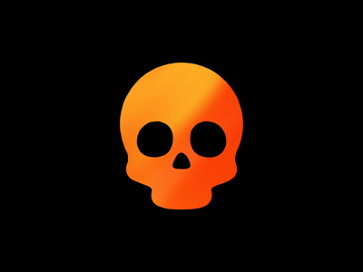 Have a Spooky Halloween! motion animation flames burn flame 👻 🎃 💀 skull halloween design halloween