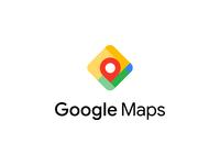 Google Maps logo concept