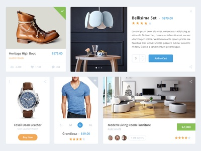 Shopping Widgets shopping shop widget cart store product product details add to car ecommerce ui ux