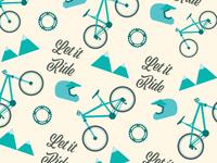 Fun lil' mountain biking inspired pattern.