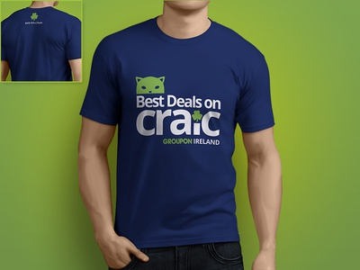 Groupon Ireland Dublin T-shirt