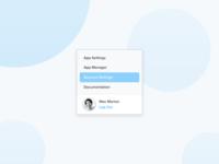 Clean Dropdown UI Style