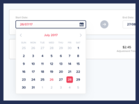 Calendar - Expanded