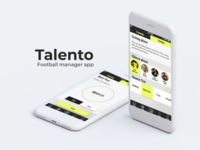Testing players - Football manager app