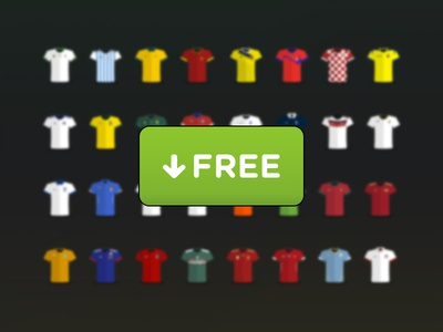 World Cup 2014 Jersey Free