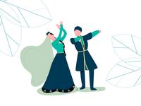 Azerbaijani Dancers