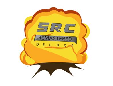SRC Logo game explosion vector drawing draw illustration
