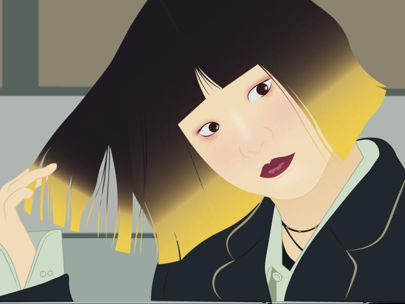 yi seo yi seo illustrator dorama itaewon class drawing draw illustration