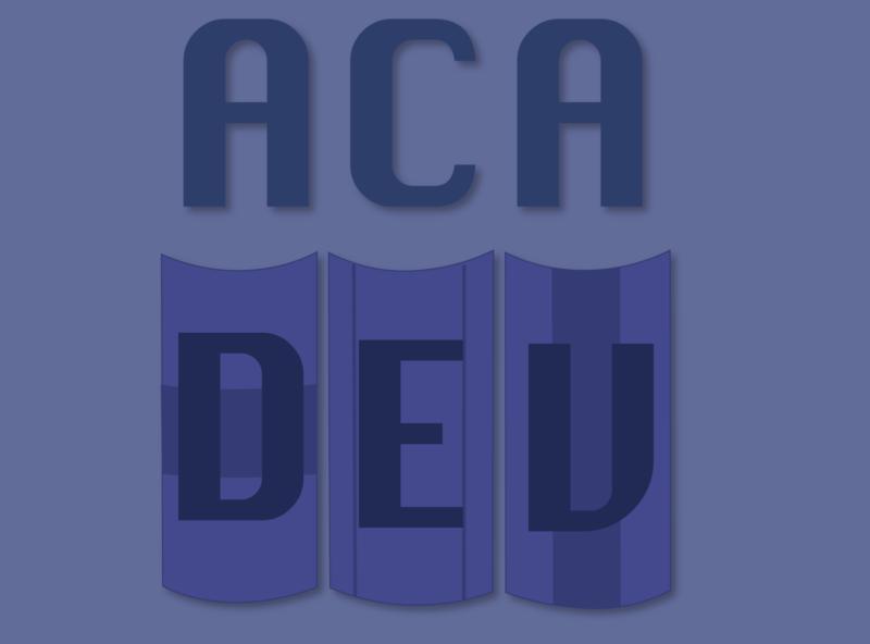 AcaDev logo