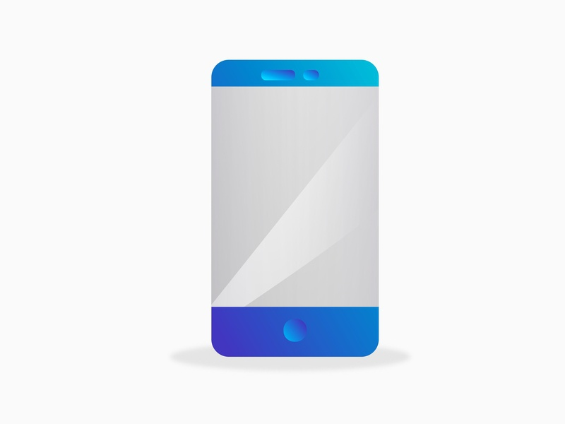 Cellphone vector ui drawing draw illustration