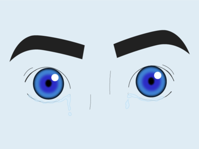 Blue Eyes blue vector drawing draw illustration