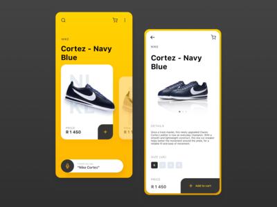 Nike Sneaker App Concept