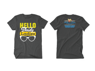 Crew Neck Front And Back t shirt project