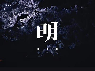 Photography Blog Logo 字体 typography chinese logo