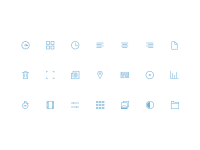 Icons icons glyph glyphs retina set stroke vector sketch