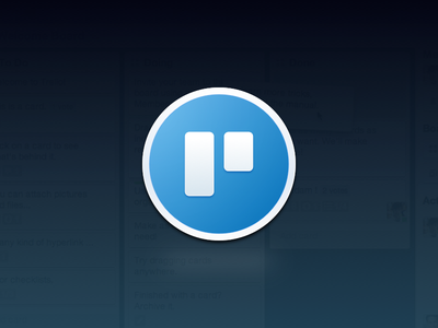 Trello app icon icon replacement mac yosemite app freebie trello os x