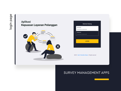 Login Page -  - Survey Management System