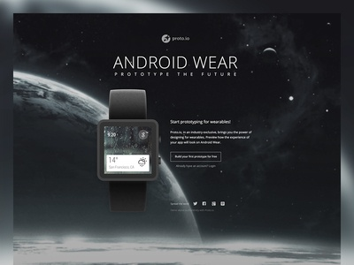 Android Wear Demo watch android wear demo prototype proto.io html