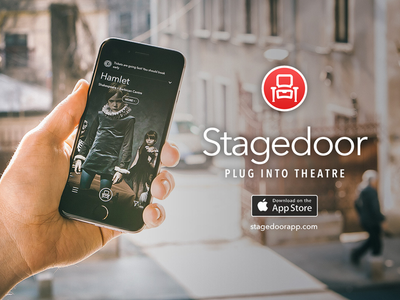 Stagedoor - Plug into theatre iOS app ios app design