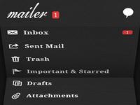 Mailer unfold