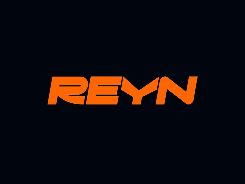 Reyn Logo typography logotype identity branding logo