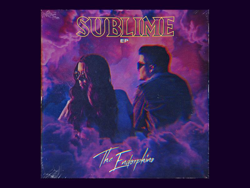The Endorphins – Sublime EP Artwork record music cover design cover art album artwork album art