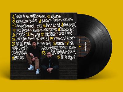 Mäk & Scientific – Historia Tracklist artwork record cover cover art album art typography music