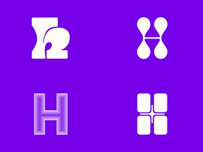 36 Days of  — H glyphs typogaphy alphabet 36daysoftype08 36dayoftype