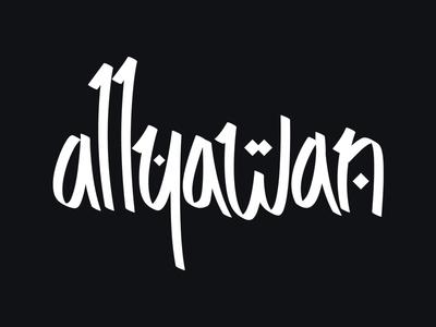 Allyawan Logo logo branding allyawan logotype