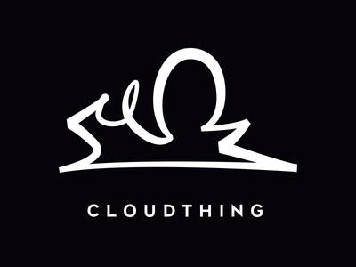 Cloudthing Logo logo branding cloud cloudthing