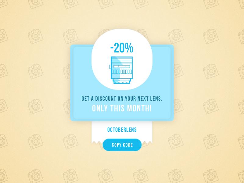 DailyUI #061 - Redeem coupon voucher coupon redeem 61 challenge design ui daily dailyui