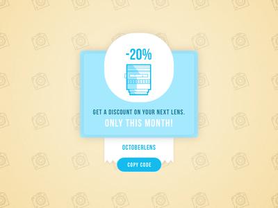 DailyUI #061 - Redeem coupon