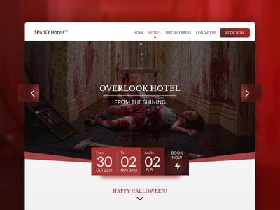 DailyUI #067 - Hotel Booking
