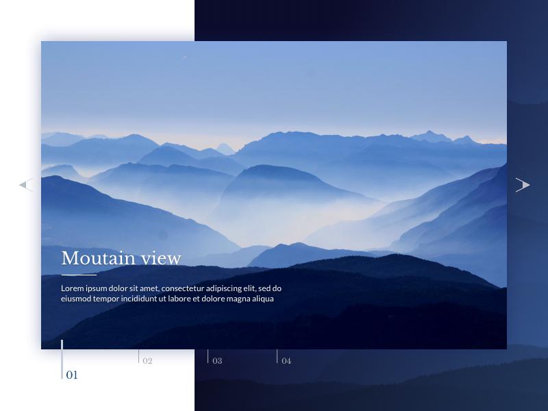 DailyUI #072 - Image slider slider image 72 challenge design ui daily dailyui