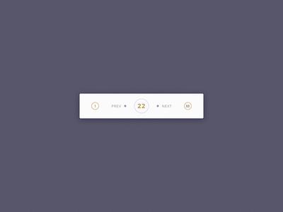 DailyUI #085 - Pagination