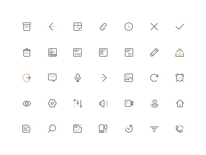 ConnectMe - Icons 2017 web ui icons connectme