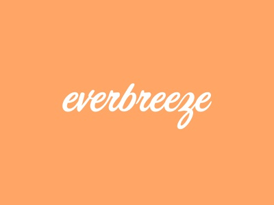 Everbreeze Logo small business logo visual identity brand identity branding graphic design design