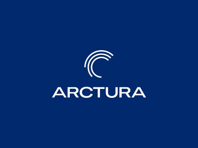 Arctura Logo typography wind power logo graphicdesign design branding brand identity visual identity