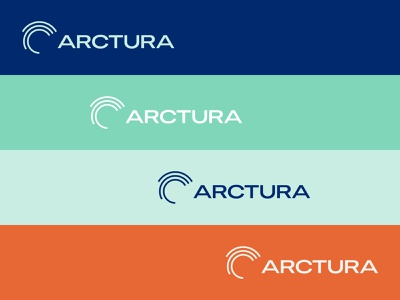 Arctura Logos color palette color wind power wind energy logo graphicdesign branding brand identity visual identity design