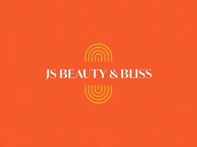 JS Beauty & Bliss Logo reiki hair stylist beauty color design graphicdesign logo visual identity branding brand identity