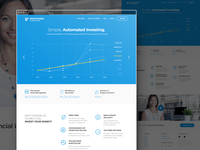 Rightfunds - Flatcolor landing page