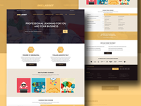 Skillasset - Homepage