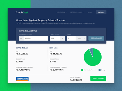CreditDesk Refinancing