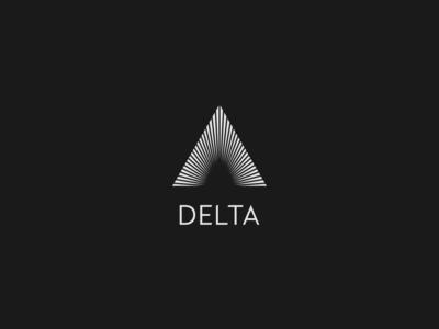 DLC: DELTA geometry geometric logo triangle delta logo mark branding logo designer logo a day dailylogochallenge logo design logodesign logo design vector