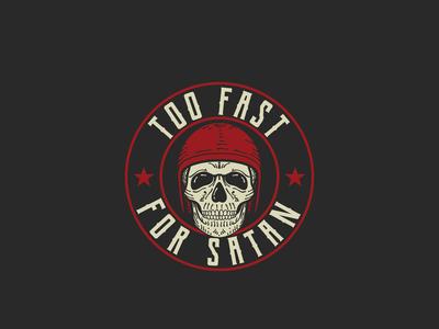 Too Fast For Satan Logo