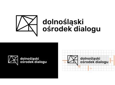 Dolnośląski Ośrodek Dialogu Logo logodesign logo design branding vector logo designs logo design ngo logo