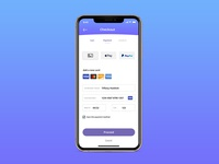 UI Credit Card Checkout